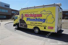 Mi Plumbing by Michigan Plumbing Box Truck Wrapped By Steel Skinz