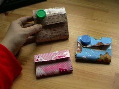 yutube com hacer cartera c 243 mo hacer un monedero de tetra brick youtube