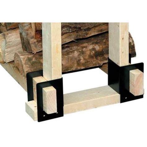 pleasant hearth 4 log brackets ls b4 the home depot