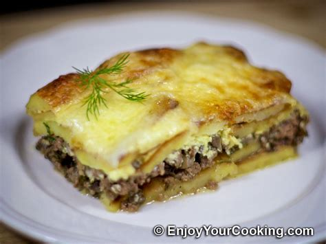 Main Dish Casserole - beef potato mushroom casserole recipe my homemade food recipes amp tips enjoyyourcooking