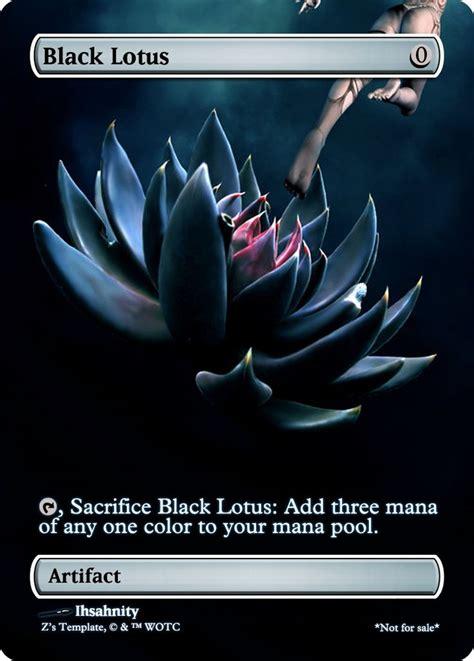 lotus magic card blacklotus png 744 215 1039 colorless magic
