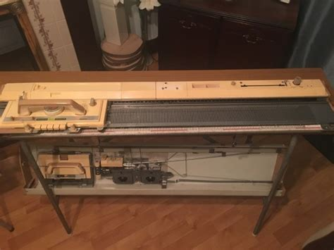 knitting machine table kh 830 knitting machine with table for sale in
