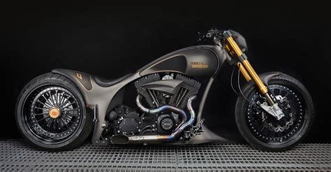 Design Custom Harley Davidson 014 black gold ms artrix studio artistico
