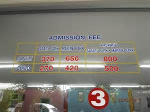 World Entry Ticket Price Entrance Fee Picture Of Safari World Bangkok Tripadvisor