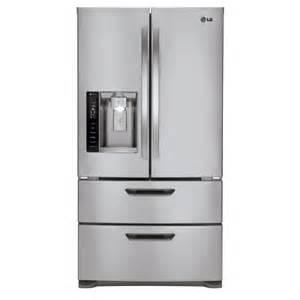Samsung Cu Ft French Door Refrigerator - lg lmx21986st 20 5 cubic ft 4 door french door energy star refrigerator lowe s canada