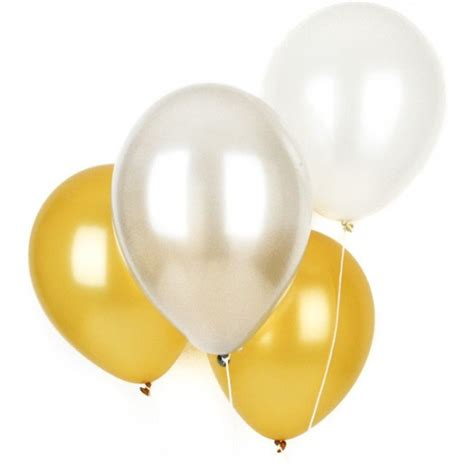 Balon Metalik Gold Mix Silver 12inch gold and silver metallic balloon selection candle cake shop