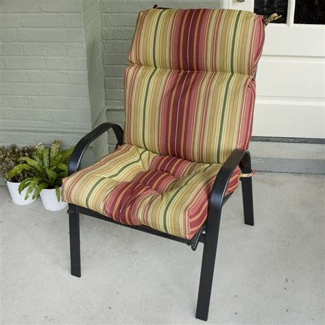 How To Clean Outdoor Furniture Cushions by How To Clean High Back Chair Cushions Outdoor Furniture