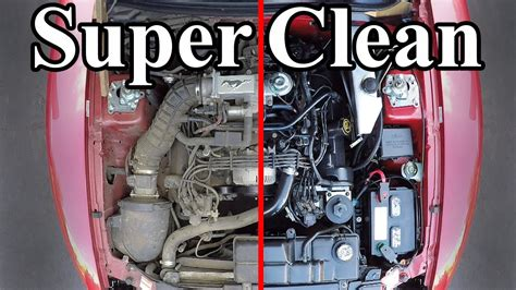 how to clean s how to clean your vehicle s engine bay boing boing