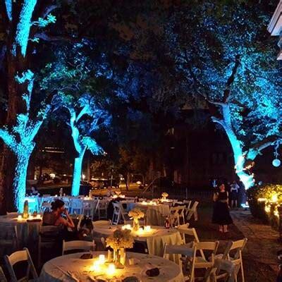 Outdoor Lighting Rental Rent Outdoor Uplights For 22 Seattle Event Lighting