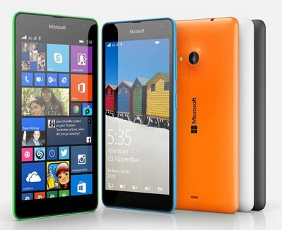 modernghana mobile microsoft unveils its mobile device lumia 535 in