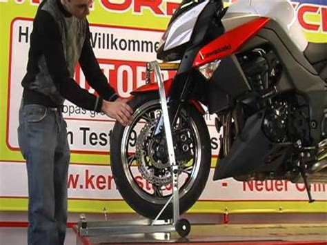 Motorradheber F R Kawasaki Z1000sx by Montagest 228 Nder Front Lenkkopf Testsiegermodell 2039 2081