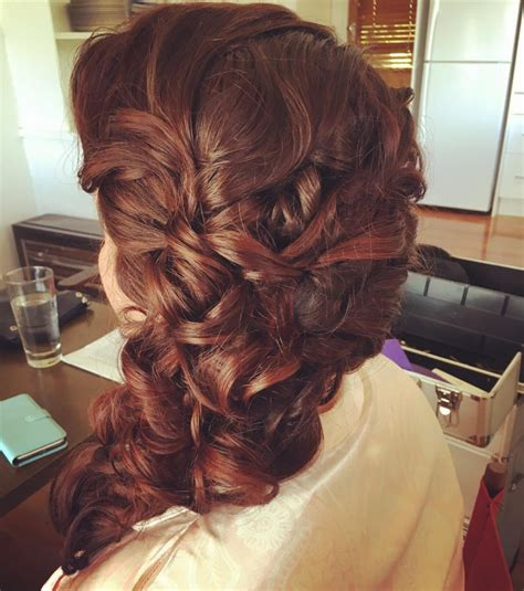 Side Swept Prom Hairstyles by 44 Prom Haircut Ideas Designs Hairstyles Design