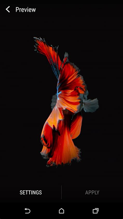 wallpaper iphone 6s hd fish how to get iphone 6s live wallpapers on android