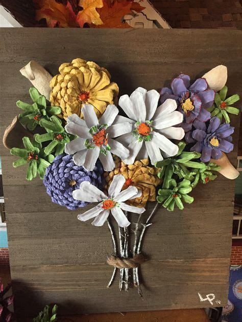 unique pinecone crafts kids ideas  pinterest
