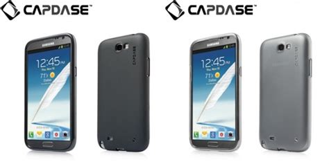 Capdase Samsung Galaxy Note 2 แนะนำ quot soft jacket xpose for samsung galaxy note ii quot เคส