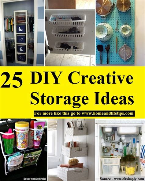 creative storage ideas 1001 best household images on pinterest