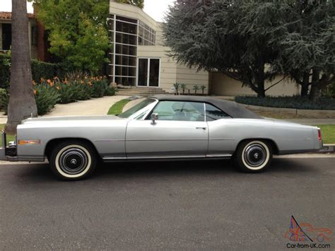 1976 Cadillac Eldorado Convertible by 1976 Cadillac Eldorado Convertible 2 Door 8 2l Low