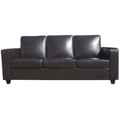 mayfair furniture brown covent 3 seater sofa