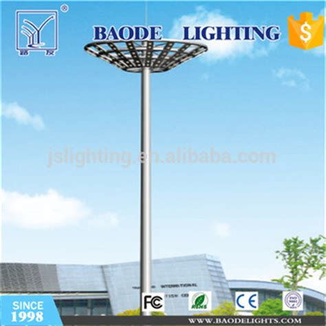 high mast light pole price 30m high mast light for cricket field lighting with