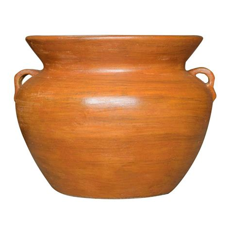 terracotta pots pennington 4 in terra cotta clay pot 100043011 the home depot