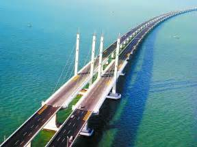 Qingdao Haiwan Bridge a maior ponte do mundo sobre a 225 gua gigantes do mundo