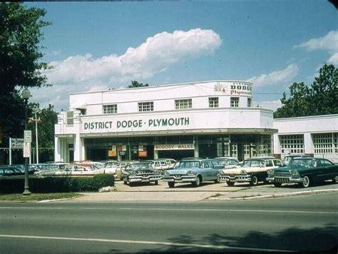1957 dodge plymouth car dealership   CAR DEALERSHIPS
