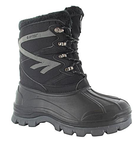 Sepatu Made Boots Avalance Sinthetic Black s hi tech avalanche winter boot black grey ebay