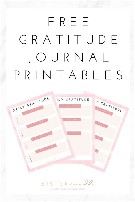 printable gratitude journal 66710 best attitude of gratitude images on pinterest