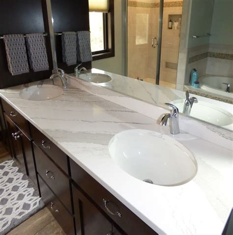 Cambria Countertops Complaints by Cambria Brittanicca Vanity Bathroom