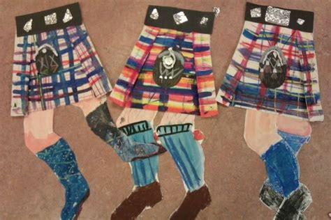 scottish arts and crafts for scotland tartan pattern nursery tartan