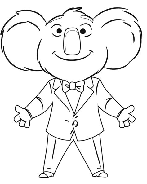 who sings in color sing coloring pages