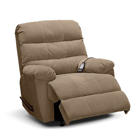 rocker recliner atlantic massage rocker recliner value city furniture