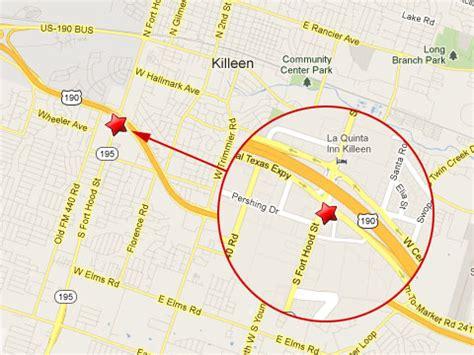 map killeen texas texas map killeen