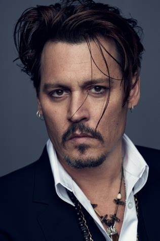Johnny Depp Hairstyle by Johnny Depp Undercut Hair