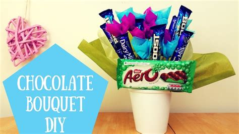 how to a at home how to make a chocolate bouquet at home with chocolate flowers chocolate bars