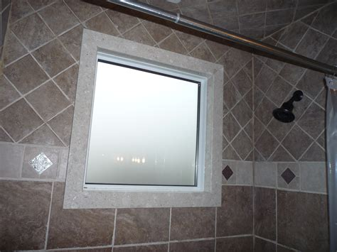 bathroom shower windows shower window