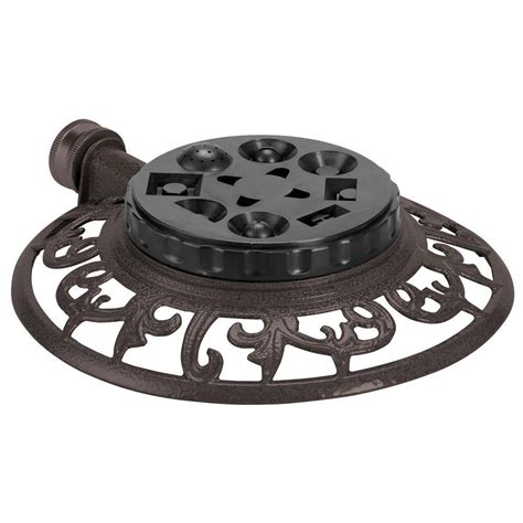 orbit decorative 8 pattern turret sprinkler 91058 the