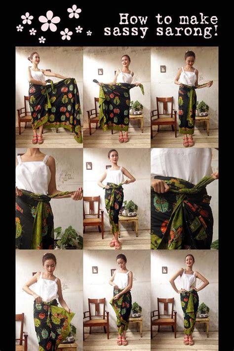 Rok Lilit Instan B115 9 Bahan Batik Songket Include Ring Belt Gasper 100 gambar rok lilit kain batik dengan ikatan isteri