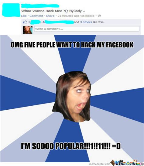 Girls On Facebook Meme - meme annoying facebook girl image memes at relatably com