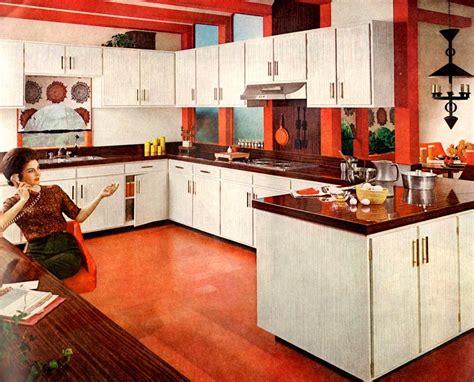 retro kitchen furniture 2018 30 vintage kitchens from atomic age to disco era flashbak