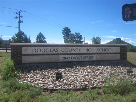 what co file douglas county high school sign castle rock co img 5621 jpg wikimedia commons