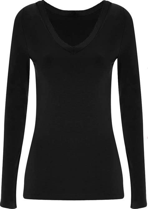 Sleeve Plain Shirt details about new plus size v neck sleeve
