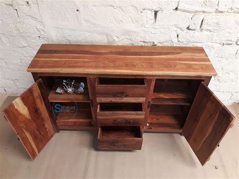 Handmade Reclaimed Wood Furniture - handmade reclaimed wood sideboard shakunt vintage