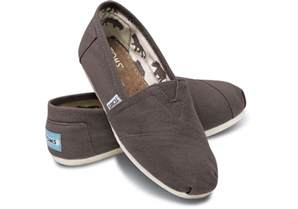 Toms Shoes Ash Canvas S Classics Toms 174