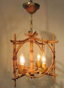 bamboo light fixtures bamboo hanging light fixture at 1stdibs