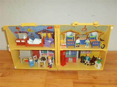 Kinderzimmer Junge Playmobil by Playmobil 4145 Mitnehm Puppenhaus Mit Kinderzimmer Ebay