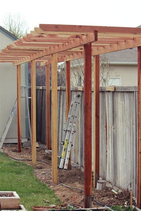 How To Build An Arbor Trellis | how to build a grape arbor step by step