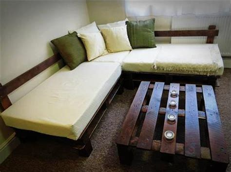 makeshift couch diy pallet sectional sofa pallets designs