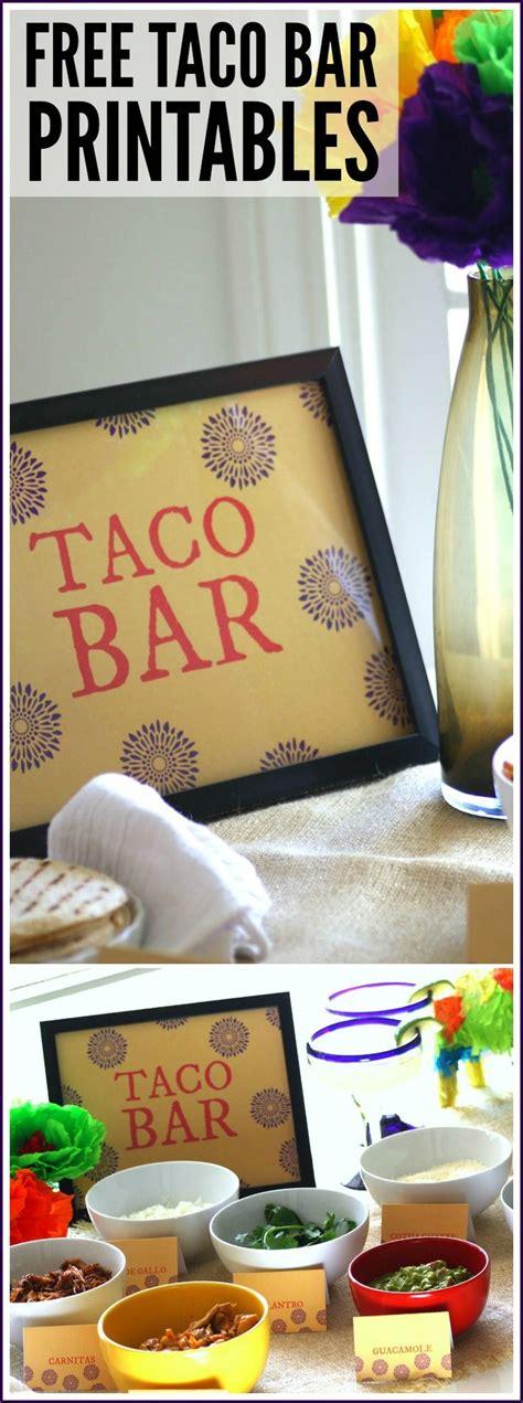 best 25 taco bar ideas on taco