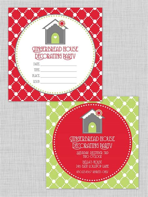 Free Christmas Party Invitations Hgtv Free Invitations Templates To